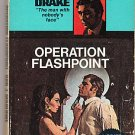 Operation Flashpoints Dan Marlow Drake Mystery Vintage