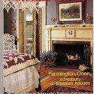 Colonial Homes April 1992 Farmington Conn Shaker Basket