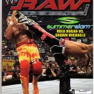 WWE Raw Magazine August 2005 Hulk Hogan Shawn Michaels