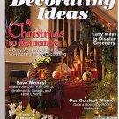 Country Sampler's Decorating Ideas Christmas Dec 1998