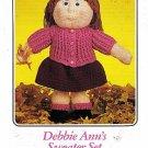 Debbie Ann's Sweater Set Crochet Pattern