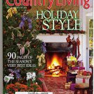 Country Living December 1999 Holiday Style Christmas