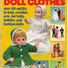 McCall's Fashions Doll Clothes 60 Outfits Patterns