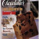 Chocolatier Magazine September 1996 Ice Cream Desserts