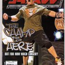 WWE Raw Magazine Holiday 2005 John Cena Mickie James