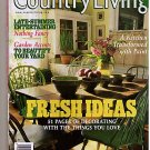 Country LIving August 1999 Decorating Antiques Gardens