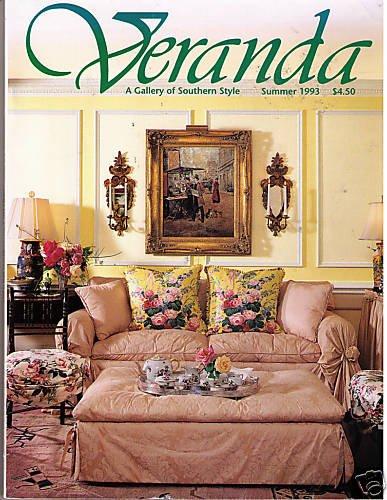 Veranda Summer 1993 Southern Style Decorating