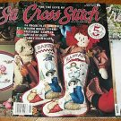 Lot of 6 For The Love Of Cross Stitch 1993 Noah's Ark