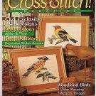 Cross Stitch Magazine No 6 Antique Bows Woodland Birds