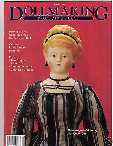 Dollmaking Projects Plans Kathe Kruse Paper Dolls 1990