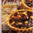 Chocolatier Magazine October 1995 New York Desserts