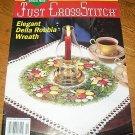 Just Cross Stitch Della Robbia Wreath Holiday Angel