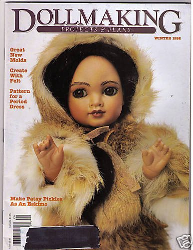 Dollmaking Projects Plans Magazine Winter 1992 Eskimo