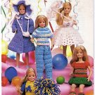 Fashion Doll LIttle Sister Clothes Crochet Pattern