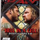 WWE RAW June 2005 Batista Triple HHH Hell In A Cell