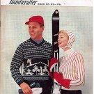 Bernat Handicrafter Ski Sports Sweaters Pattern Vintage
