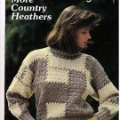 More Country Heathers Sweaters Hats Jacket Pattern Knit