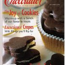 Chocolatier December 2002 Crepes Cookies Tortes Recipes