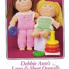 Debbie Ann's Long & Short Overalls Crochet Pattern
