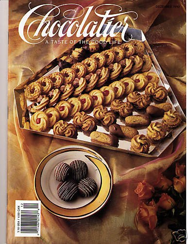 Chocolatier Magazine December 1990 Chocolate Desserts