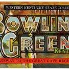 BOWLING GREEN, Kentucky large letter postcard Teich