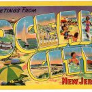 OCEAN CITY, New Jersey large letter postcard Colourpicture