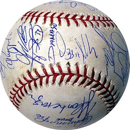 WHITE SOX TEAM AUTOGRAPH