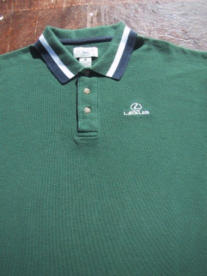 LEXUS embroidered logo MEDIUM POLO SHIRT