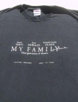 MY FAMILY mi familia 95 premiere XL T-SHIRT smits olmos