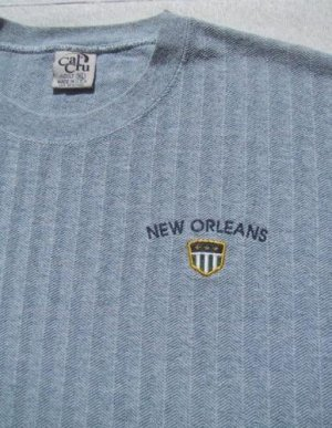 NEW ORLEANS - nice knit size XL T-SHIRT louisiana