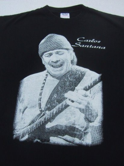 CARLOS SANTANA  --- X-LARGE T-SHIRT