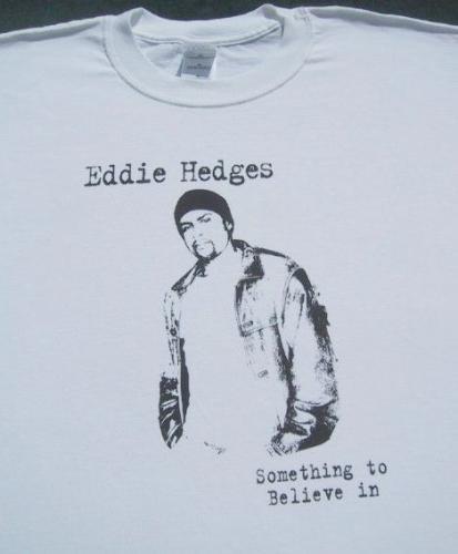 EDDIE HEDGES christian R&B folk artist XL T-SHIRT