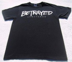 BETRAYED substance 2006 album SMALL T-SHIRT hardcore