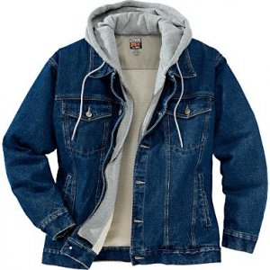 Womens Sherpa Lined Denim Jacket