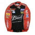 Budweiser Nascar Car BLACK Jacket