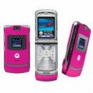 Motorola V3 Razr Unlocked GSM Cell Phone AT&T T-Mobile Pink