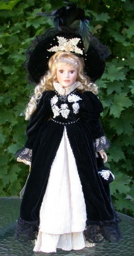 "Porcelain Doll ""Anastasia Collection"" Audrey"