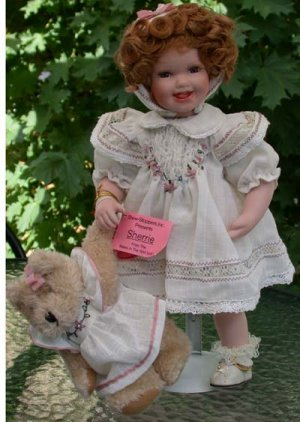 Show-stoppers Porcelain Doll  Sherrie