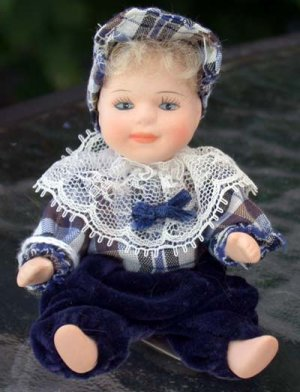 Porcelain Doll Little boy