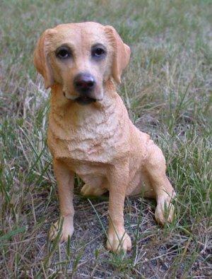 """Labrador Dog Figurine 6 1/2"""""""