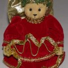 "Christmas Bear Angel Figurine 5 1/2"" Tall"