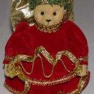 "Christmas Bear Angel Figurine 5 1/2"" Tall"