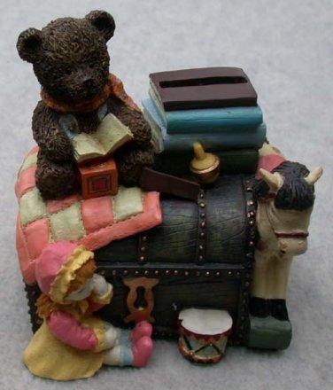Treasure Chest Toy Box Vintage Theme Bank