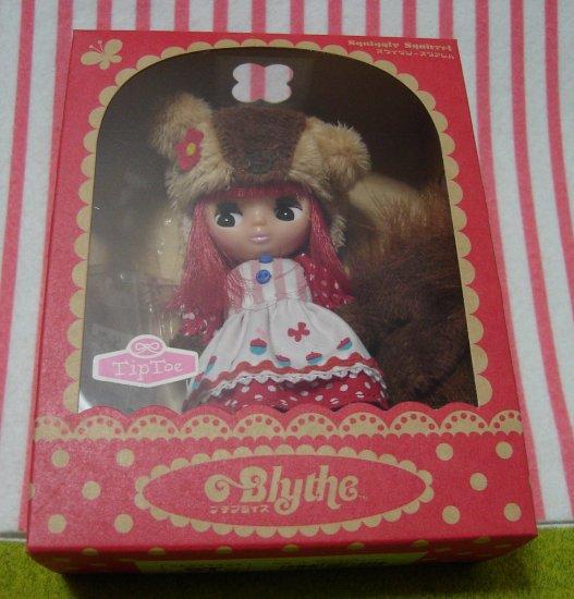 Petite Blythe Squiggly Squirrel Takara Japan