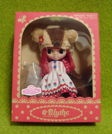 Petite Blythe Squiggly Squirrel Takara Japan