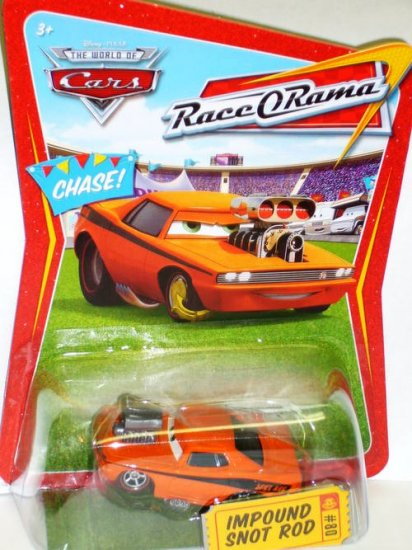 Disney Pixar Cars Chase Impound Snot Rod