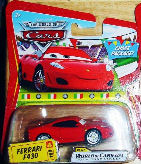 Disney Pixar Cars Chase Package Ferrari F430