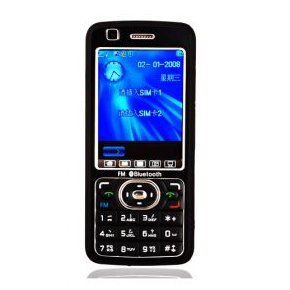 Unlocked A868 Dual Card Quad Band Touch Screen Cell Phone
