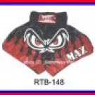 RAJA Muaythai boxing shorts RTB-148 Black/Red