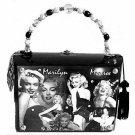 Cigar Box Purse - Marilyn Monroe